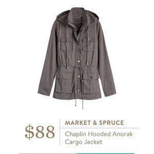 Market & Spruce Anorak Cargo Jacket